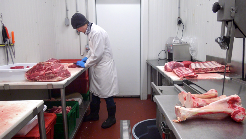 Demand for locally-grown meat is increasing at southern Alberta locations such as TK Ranch in Inverlake.