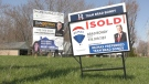 The average sale price of a home in Windsor-Essex hit $357,874 according to March monthly statistics from the Windsor-Essex County Association of Realtors, 7.46 per cent more year-over year, but a roughly $30,000 drop from just month earlier. Photo take in Amherstburg, Ont. Wednesday, April 8, 2020. (Ricardo Veneza / CTV Windsor)