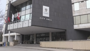 City Hall in London, Ont.