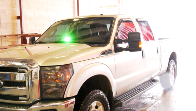 Green lights on personal vehicles alert other drivers that a volunteer firefighter is on their way to an emergency.