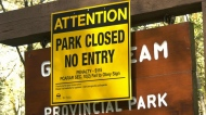 B.C. closes provincial parks due to COVID-19