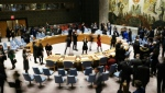 Led by Germany, nine of the UN Security Council's 10 non-permanent members requested the closed-door meeting on COVID-19. (AFP)