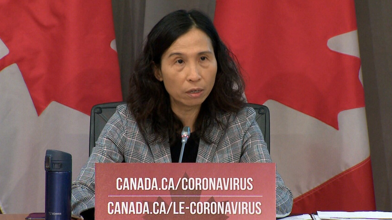 Dr. Theresa Tam discusses national COVID-19 projections, Thursday, April 9, 2020.