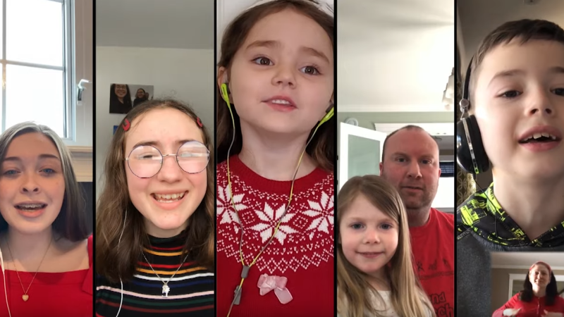 "The Newfoundland and Labrador English School District shared the video on social media and YouTube today, featuring videos from more than 350 students, teachers and staff singing ""O Canada."""