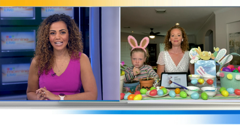 A parenting expert will show us fun ways to get kids excited about Easter and think and act with kindness