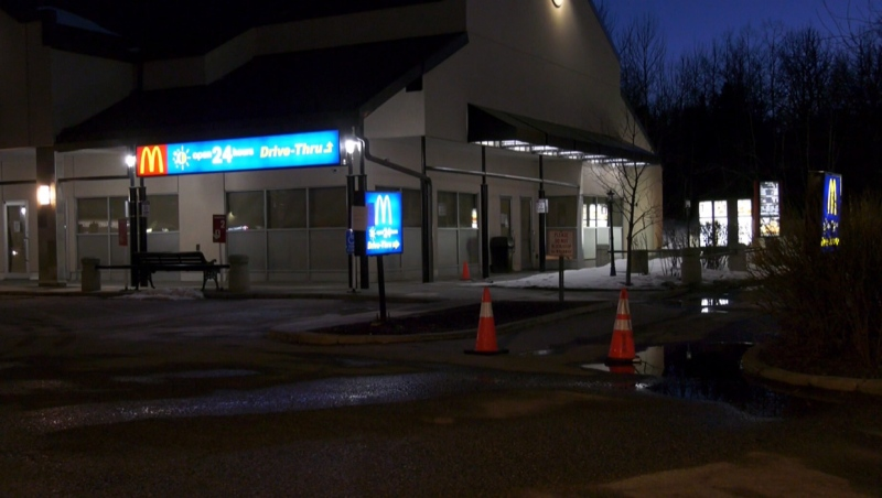 The McDonald's in Glenmore Landing has been temporarily closed after an employee tested positive for COVID-19