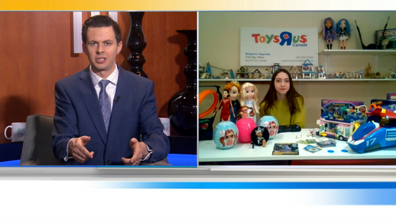 The Toys r Us Canada Chief Play Officer will be connecting via skype to tell us about the top toys of the season