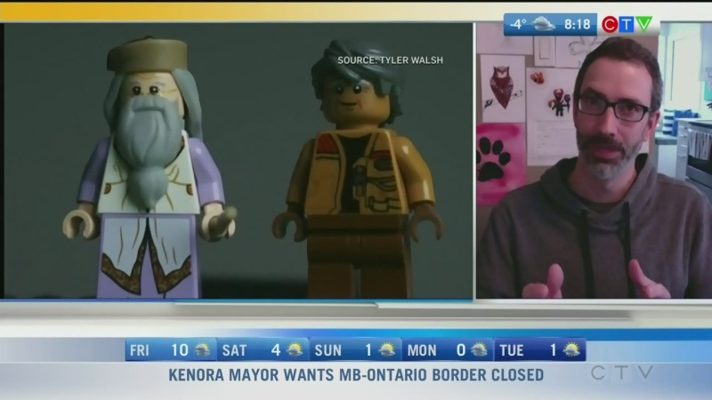 Winnipegger makes Trudeau LEGO news conference