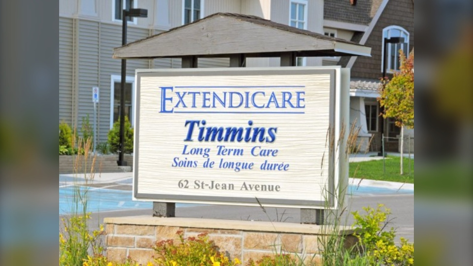Extendicare Timmins, a long-term care home located in Timmins, Ont.