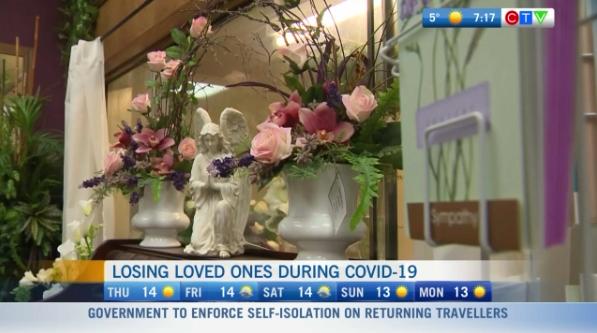Managing grief, COVID-19