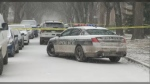 An investigation continues into an officer-involved shooting Thursday morning in the 300 block of Anderson Avenue. (Photo: CTV News/Kenneth Gabel)