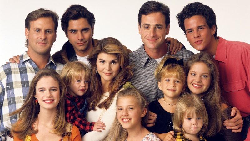 The cast of 'Full House.' (Bob D'Amico/Disney ABC Television Group/ABC via Getty Images/CNN)