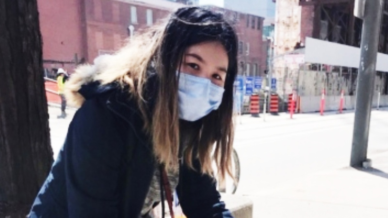 Katherine Cheung said she was the victim of a racially-motivated attack in downtown Toronto Wednesday. (Supplied)