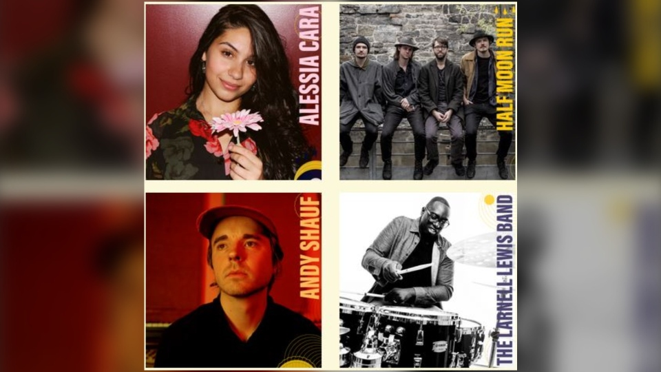 Some of the artists that were scheduled to perform at this summer's Halifax Jazz Festival. (SOURCE: Halifax Jazz Festival)