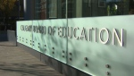 The Calgary Board of Education says it's had to lay off 1,900 employees because of budget cuts.