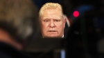 Ontario Premier Doug Ford answers questions at Queen's Park in Toronto on Wednesday March 25, 2020. (The Canadian Press)