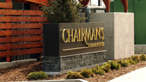 Chairman's Steakhouse in Calgary laid off its entire 50 person staff in March.