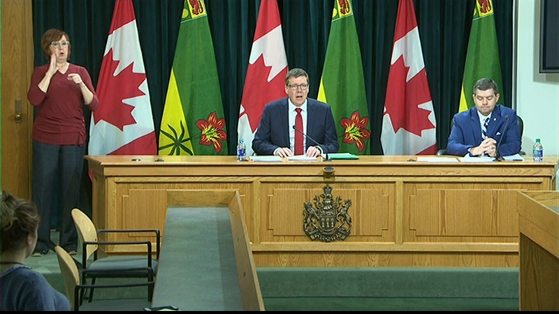 Sask. officials speak on COVID-19