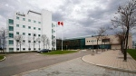 The National Microbiology Laboratory in Winnipeg is shown in a file photo. (THE CANADIAN PRESS/John Woods)