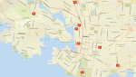 The Victoria Police Department is investigating 9 suspicious fires that were lit in March and early April: (VicPD)
