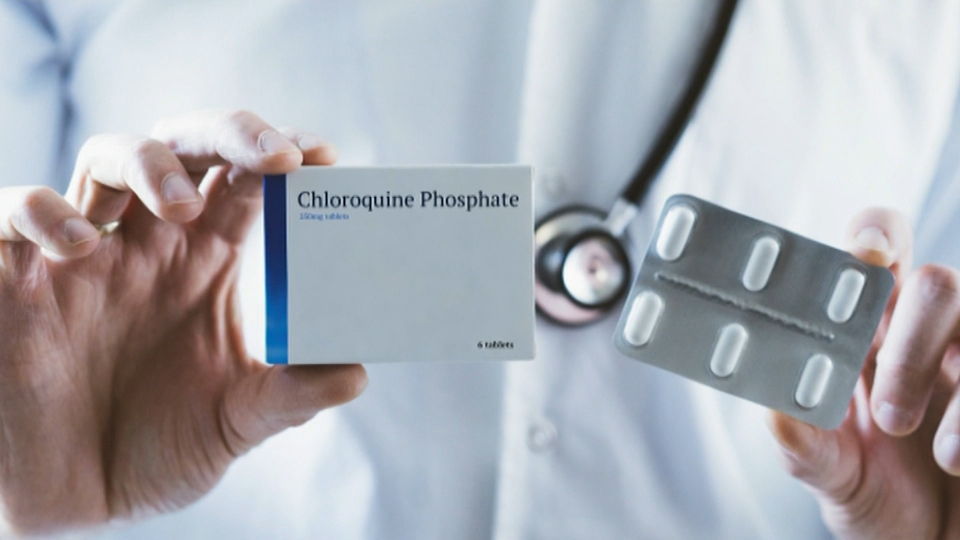 Hydroxychloroquine trial