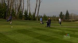 Mayor wants golf courses shut down