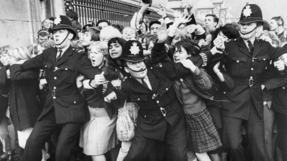 beatles fans afp