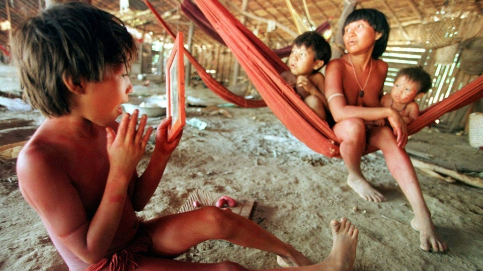 The Yanomami people live in remote areas of the Amazon and are known for their vulnerability to foreign diseases. (AFP)