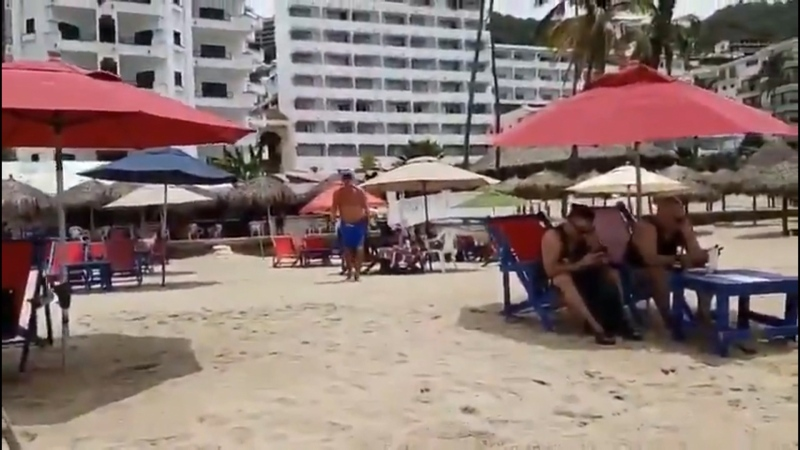 Doraliz Terron says she was on Los Muertos Beach, working on a story about tourists ignoring orders to stay away from public beaches when the confrontation took place. (Submitted)