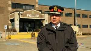 Sault Ste. Marie Police Chief Hugh Stevenson says the drug trade is fuelling an increase in break and enters. (File)