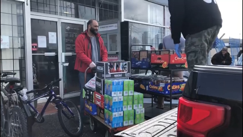 On the Queen's Twitter account Thursday, a select few organizations were recognized for helping to feed the hungry during the COVID-19 crisis. Khalsa Aid Canada was one of them. (Submitted)