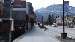 Some streets in Banff will be closed to vehicle access to allow for social distancing. (File photo)