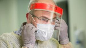 COVID-19 PPE medical mask