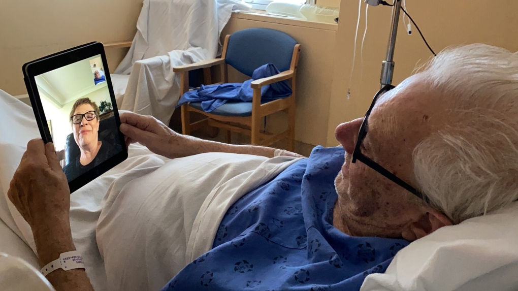 Windsor Regional Hospital is using FaceTime for patients to connect with loved ones | CTV News
