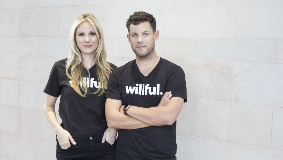 Husband and wife team Erin Bury and Kevin Oulds owners of Willful are shown in this undated handout image. (THE CANADIAN PRESS/HO-Becca Lemire)