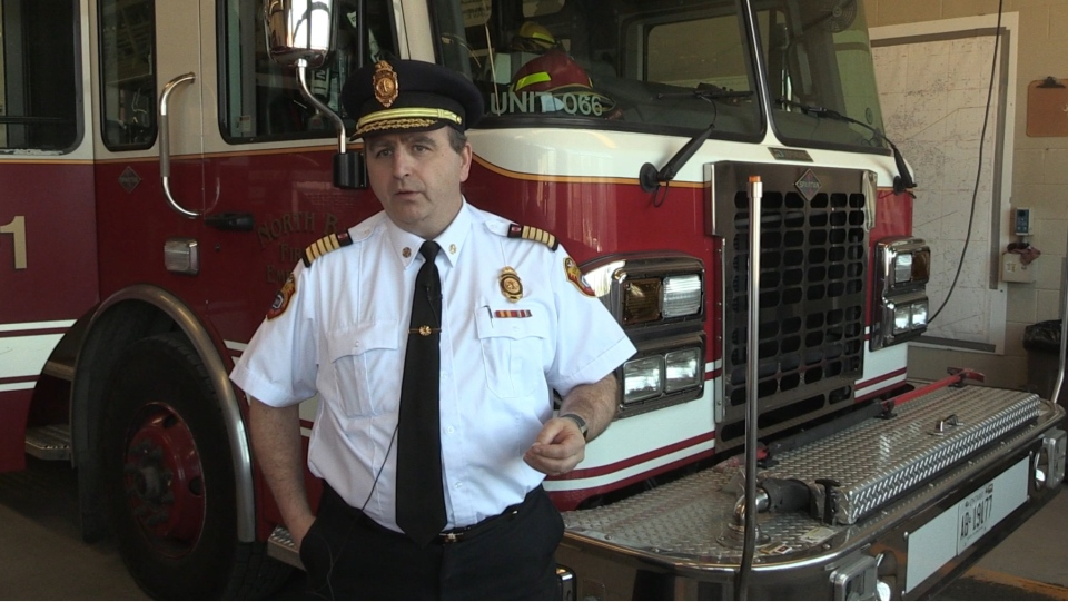 North Bay Fire Chief Jason Whiteley
