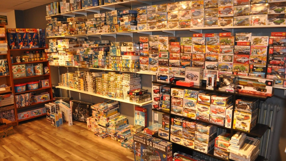 While his aquatics sales are sinking, Mike Chambers, owner of Nautilus Aquatics and Hobbies, says many people are inquiring about his supplies of model railroads, rockets, cars, plastic models and puzzles, during a time when many people are looking for new hobbies to pass the time at home.