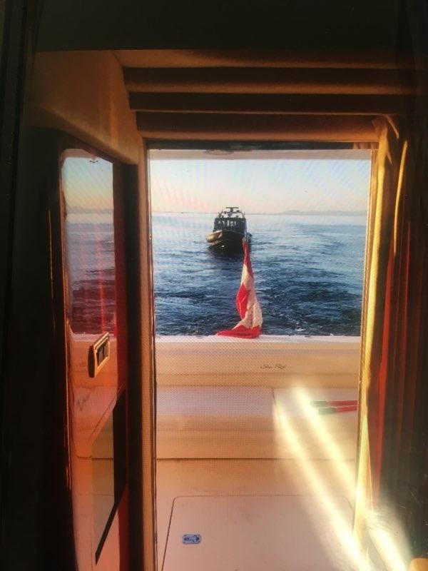 Oak Bay yacht