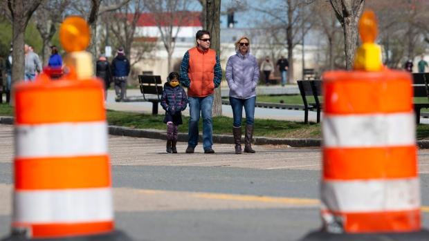Boston street closed