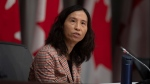Chief Public Health Officer Theresa Tam responds to a question during a news conference in Ottawa, Monday April 13, 2020. THE CANADIAN PRESS/Adrian Wyld
