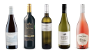 Blue Mountain Vineyard and Cellars Estate Cuvee Gamay Noir 2018, Torres Gran Coronas Reserva Cabernet Sauvignon 2015,  Skouras Moschofilero 2018, Whitecliff Vineyard & Winery Sauvignon Blanc 2019, Chateau Ste. Michelle Rosé 2018