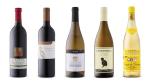 L.A. Cetto Cabernet Sauvignon 2017, Cave Spring Cabernet Franc 2017, Kellerei Bozen Pinot Grigio 2018, Cannonball Chardonnay 2017, Cotnari Grasa de Cotnari 2017