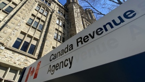 The Canada Revenue Agency has opened its snitch line to reports of fraudulent claims relating to the CERB fund and other COVID-19 financial relief benefits. The CRA building is seen in Ottawa, Monday April 6, 2020. (THE CANADIAN PRESS/Adrian Wyld)