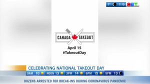 National takeout day