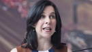 Montreal Mayor Valerie Plante speaks during a news conference in Montreal. File photo: THE CANADIAN PRESS/Graham Hughes