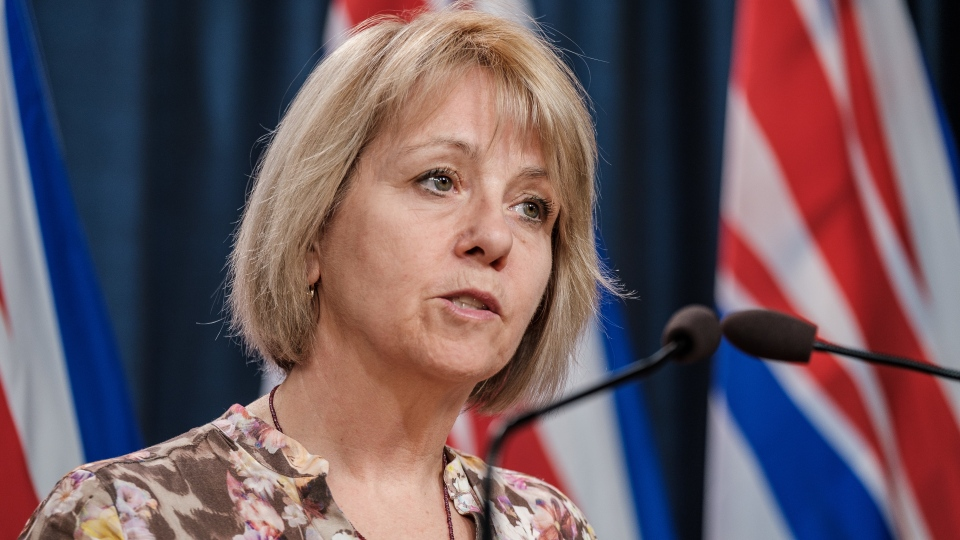 Dr. Bonnie Henry speaks at a news conference on April 14, 2020. (Province of BC/Flickr)