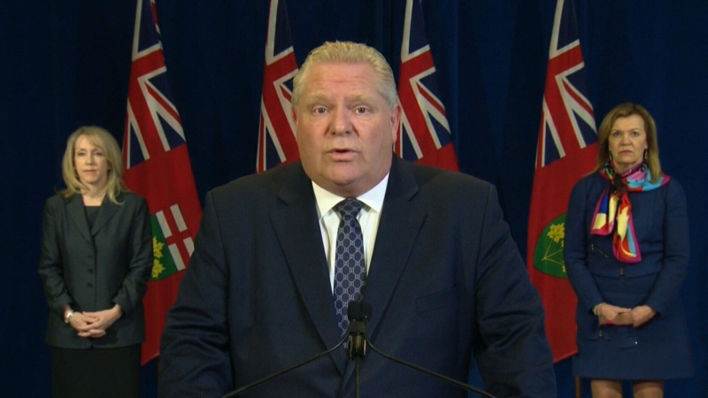 Ford asks military for help at long term care homes