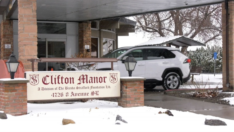 The Brenda Strafford Foundation confirms there are currently 77 active cases and four deaths in connection to the latest COVID-19 outbreak at Clifton Manor in SE Calgary. (file)