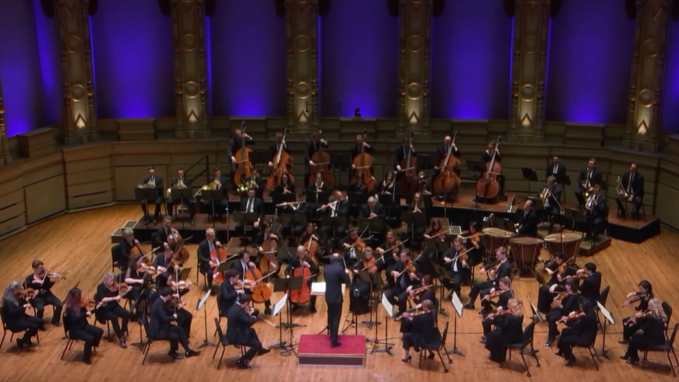 The Vancouver Symphony Orchestra performs Beethoven's 5th Symphony in a concert recorded before COVID-19 restrictions were imposed in B.C. (YouTube)
