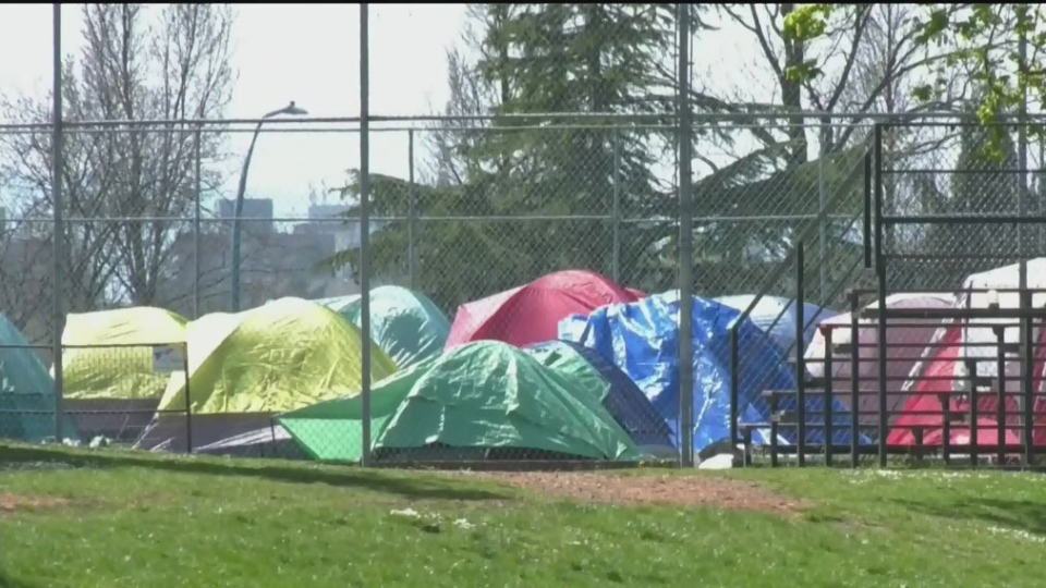 Campers told they can stay at Beacon Hill